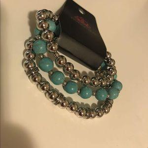 4 for $25 ⭐️ Paparazzi  turquoise bracelet set